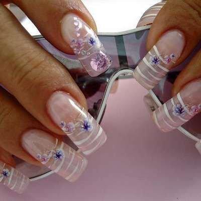 Дизайн ногтей акрил с фото дизайн